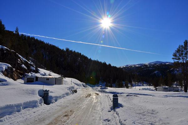 Bortelid-Camping-solskinnsdag