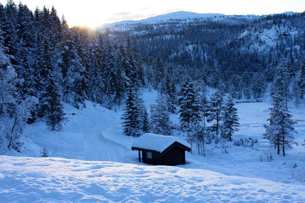 Bortelid-Camping-vinteridyll